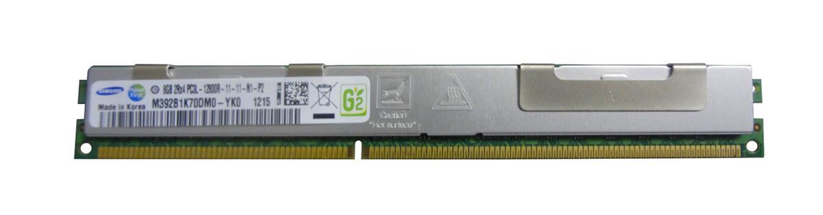 M4L Certified 8GB 1600MHz DDR3 PC3-12800 Reg ECC CL11 240-Pin Dual Rank x4 VLP 1.35V Low Voltage DIMM Mfr P/N M4L-PC31600RD3D411DVL-8G