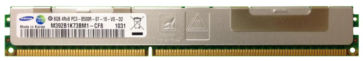 M4L Certified 8GB 1066MHz DDR3 PC3-8500 Reg ECC CL7 240-Pin Quad Rank x8 VLP DIMM Mfr P/N M4L-PC31066RD3Q87DV-8G