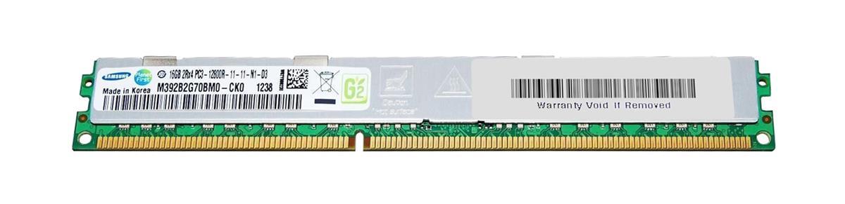 M4L Certified 16GB 1600MHz DDR3 PC3-12800 Reg ECC CL11 240-Pin Dual Rank x4 VLP DIMM Mfr P/N M4L-PC31600RD3D411DV-16G