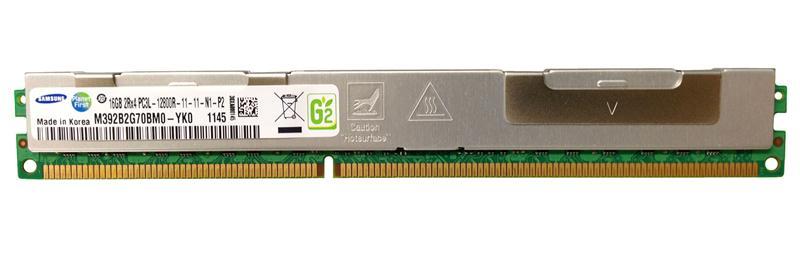 M4L Certified 16GB 1600MHz DDR3 PC3-12800 Reg ECC CL11 240-Pin Dual Rank x4 VLP 1.35V Low Voltage DIMM Mfr P/N M4L-PC31600RD3D411DVL-16G