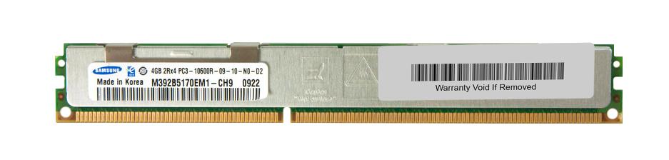 M4L Certified 4GB 1333MHz DDR3 PC3-10600 Reg ECC CL9 240-Pin Dual Rank x4 VLP DIMM Mfr P/N M4L-PC31333RD3D49DV-4G