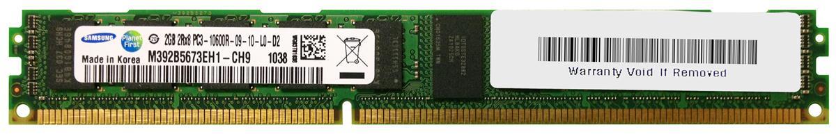 M4L Certified 2GB 1333MHz DDR3 PC3-10600 Reg ECC CL9 240-Pin Dual Rank x8 VLP DIMM Mfr P/N M4L-PC31333RD3D89DV-2G