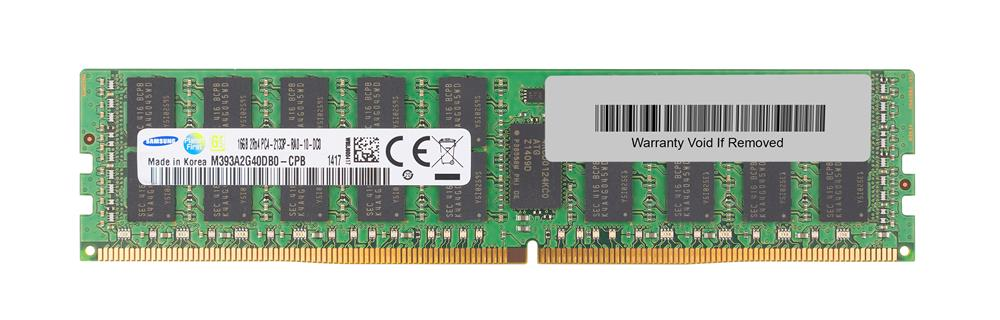 3D-1508R26261-16G 16GB Module DDR4 PC4-17000 CL=15 Registered ECC DDR4-2133 Dual Rank, x4 1.2V 2048Meg x 72 for Hewlett-Packard ProLiant DL180 Gen9 (G9) Xeon E5-2623v3 Quad-Core 3.0GHz (778456-B21) 726719-B21
