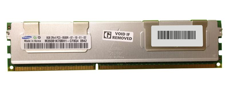 M4L-PC31066D3D4R7S-8G M4L Certified 8GB 1066MHz DDR3 PC3-8500 Reg ECC CL7 240-Pin Dual Rank x4 DIMM