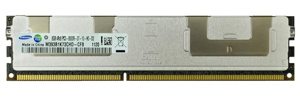 M4L Certified 8GB 1066MHz DDR3 PC3-8500 Reg ECC CL7 240-Pin Quad Rank x8 DIMM Mfr P/N M4L-PC31066RD3Q87D-8G
