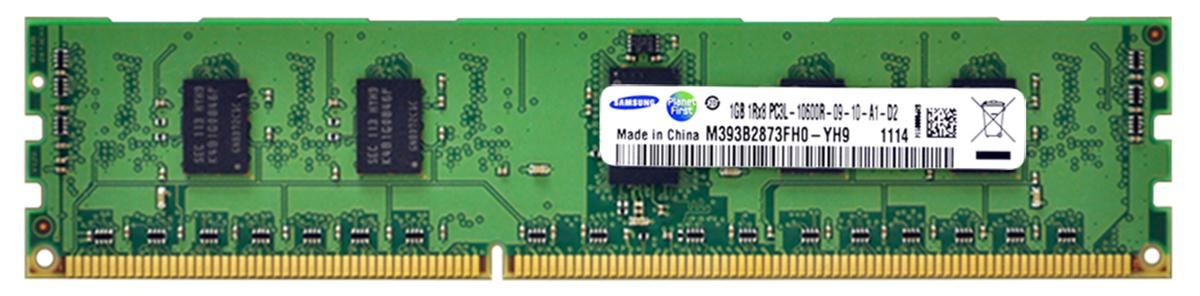 M4L Certified 1GB 1333MHz DDR3 PC3-10600 Reg ECC CL9 240-Pin Single Rank x8 1.35V Low Voltage DIMM Mfr P/N M4L-PC31333RD3S89DL-1G