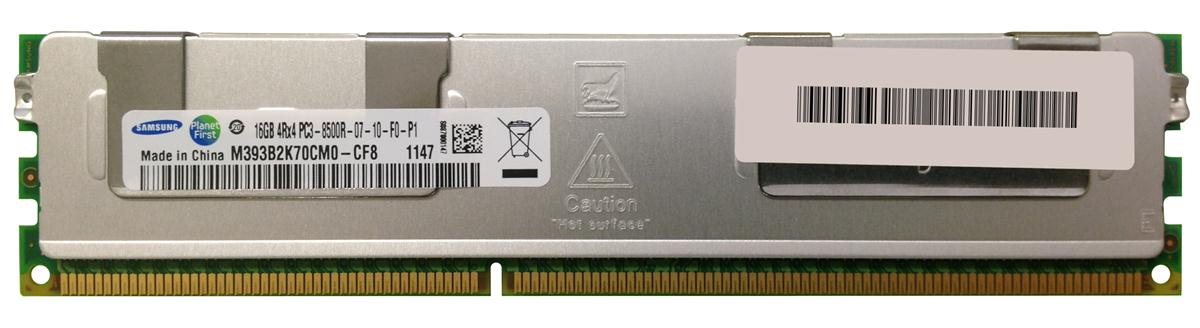 M4L Certified 16GB 1066MHz DDR3 PC3-8500 Reg ECC CL7 240-Pin Quad Rank x4 DIMM Mfr P/N M4L-PC31066D3Q4R7S-16G