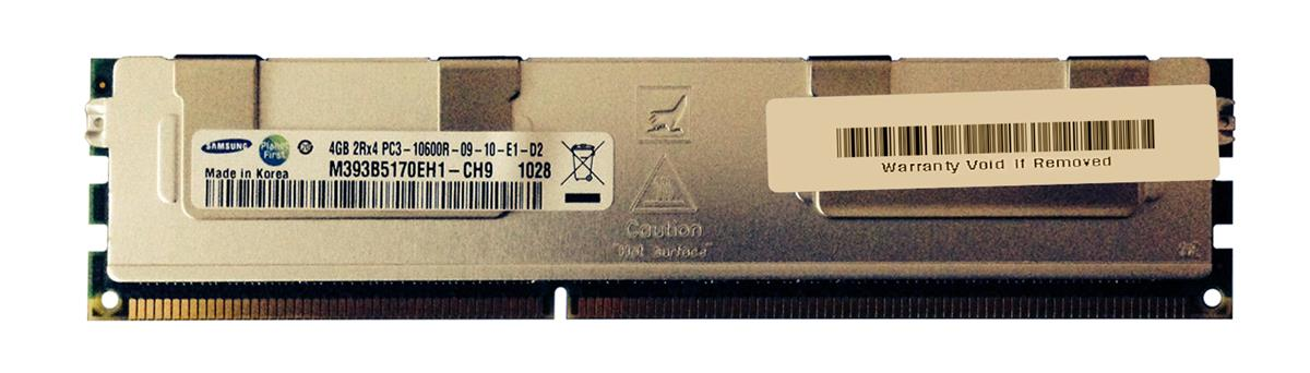 M4L-PC31333D3D4R9S-4G M4L Certified 4GB 1333MHz DDR3 PC3-10600 Reg ECC CL9 240-Pin Dual Rank x4 DIMM