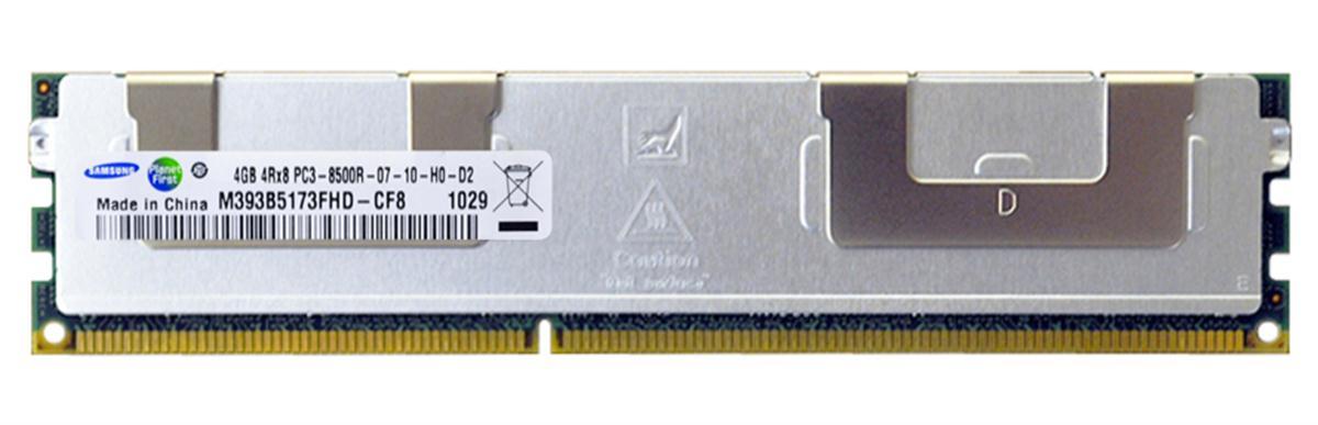 M4L Certified 4GB 1066MHz DDR3 PC3-8500 Reg ECC CL7 240-Pin Quad Rank x8 DIMM Mfr P/N M4L-PC31066D3Q8R7S-4G