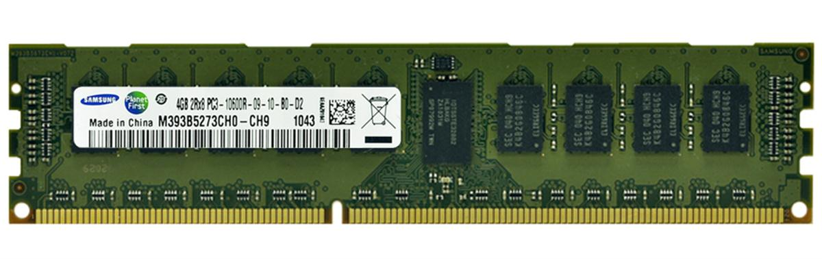 M4L-PC31333RD3D89D-4G M4L Certified 4GB 1333MHz DDR3 PC3-10600 Reg ECC CL9 240-Pin Dual Rank x8 DIMM