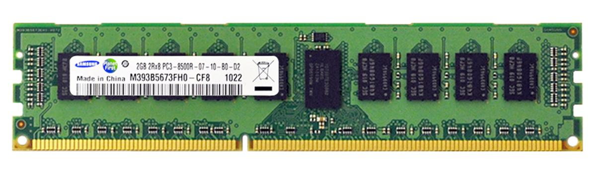 M4L Certified 2GB 1066MHz DDR3 PC3-8500 Reg ECC CL7 240-Pin Dual Rank x8 DIMM Mfr P/N M4L-PC31066D3D8R7S-2G