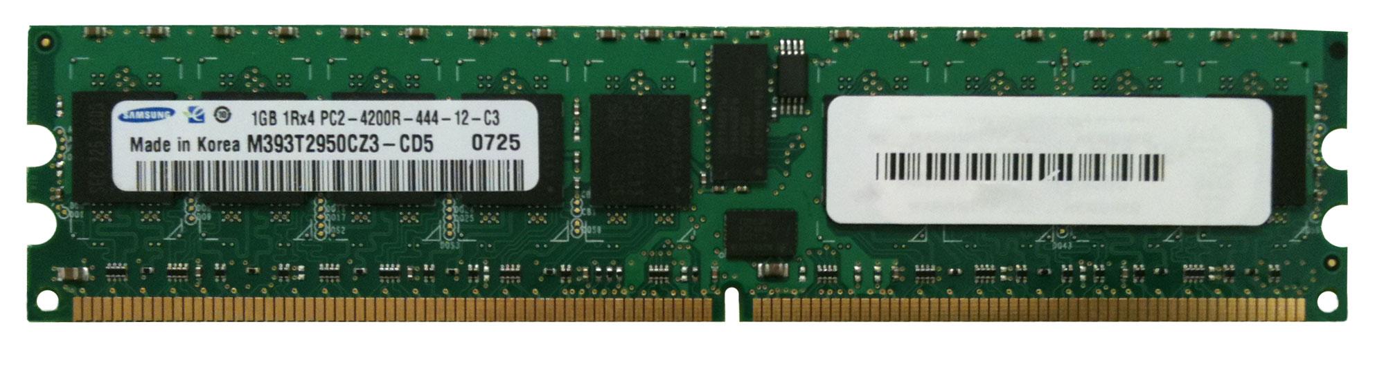 M4L Certified 1GB 533MHz DDR2 PC2-4200 Reg ECC CL4 240-Pin Single Rank x4 DIMM Mfr P/N M4L-PC2533D2S4R4-1G