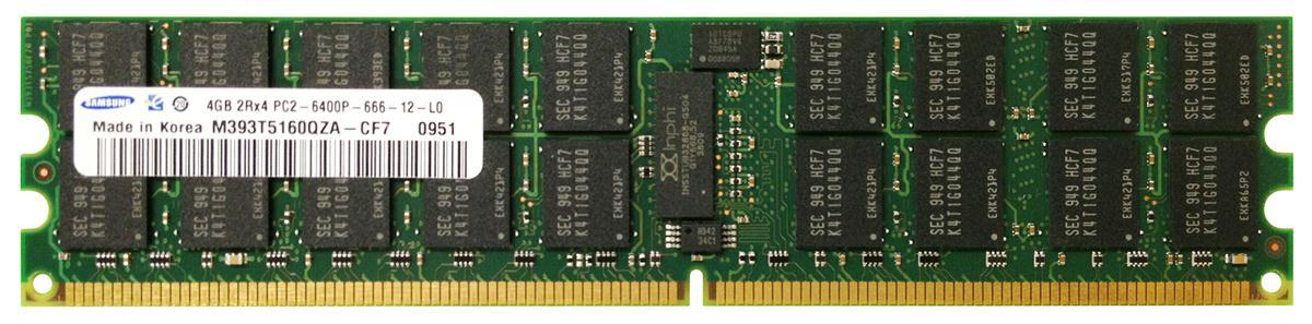 M4L Certified 4GB 800MHz DDR2 PC2-6400 Reg ECC CL6 240-Pin Dual Rank x4 DIMM Mfr P/N M4L-PC2800RD2D46D-4G