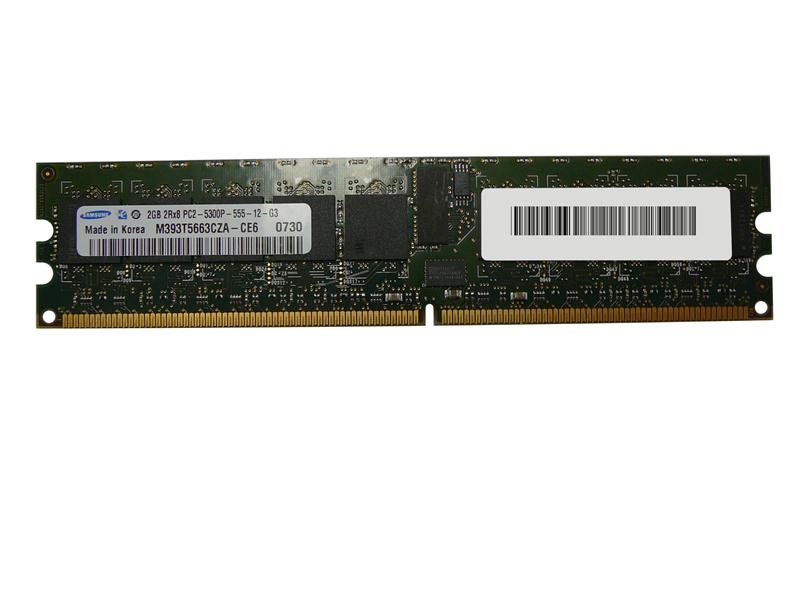 M4L-PC2667RD2D85D-2G M4L Certified 2GB 667MHz DDR2 PC2-5300 Reg ECC CL5 240-Pin Dual Rank x8 DIMM