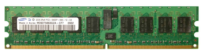 M4L Certified 2GB 800MHz DDR2 PC2-6400 Reg ECC CL6 240-Pin Dual Rank x8 DIMM Mfr P/N M4L-PC2800D2D8P6-2G