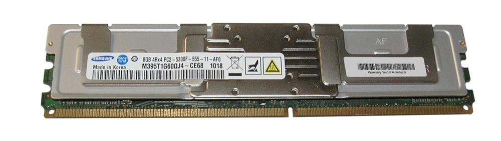 M4L-PC2667ED2Q4F5D-8G M4L Certified 8GB 667MHz DDR2 PC2-5300 Fully Buffered ECC CL5 240-Pin Quad Rank x4 DIMM