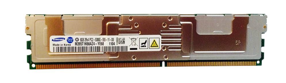 M4L Certified 8GB 667MHz DDR2 PC2-5300 Fully Buffered ECC CL5 240-Pin Dual Rank x4 1.55V Low Voltage DIMM Mfr P/N M4L-PC2667ED2D4F5DL-8G
