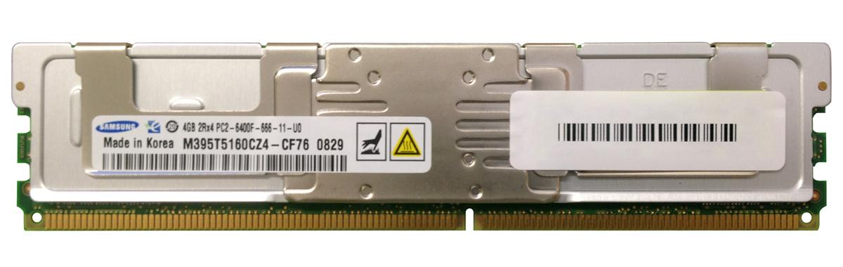 M4L-PC2800ED2D4F6D-4G M4L Certified 4GB 800MHz DDR2 PC2-6400 Fully Buffered ECC CL6 240-Pin Dual Rank x4 DIMM
