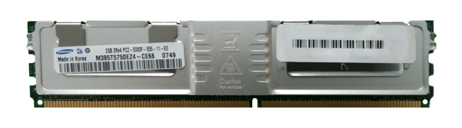 M4L Certified 2GB 667MHz DDR2 PC2-5300 Fully Buffered ECC CL5 240-Pin Dual Rank x4 DIMM Mfr P/N M4L-PC2667D2D4F5-2G
