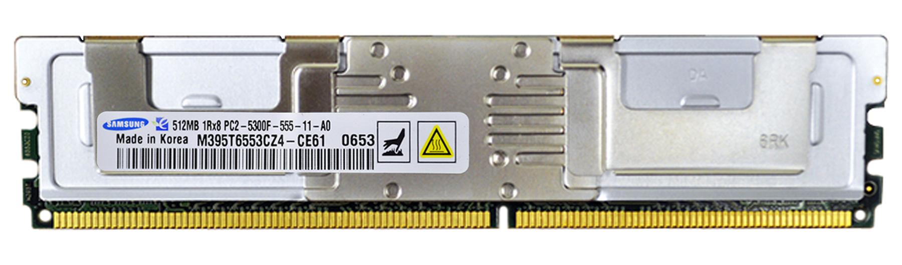 M4L Certified 512MB 667MHz DDR2 PC2-5300 Fully Buffered ECC CL5 240-Pin Single Rank x8 DIMM Mfr P/N M4L-PC2667ED2S85FD-512M