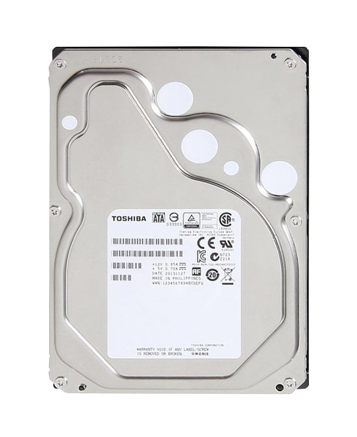 MC04ACA600E Toshiba Enterprise Cloud 6TB 7200RPM SATA 6Gbps 128MB Cache (512e) 3.5-inch Internal Hard Drive