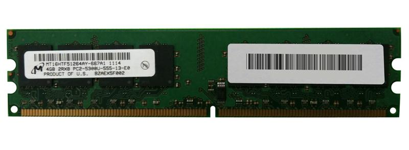 M4L-PC2667D2N5-4G M4L Certified 4GB 667MHz DDR2 PC2-5300 Non-ECC CL5 240-Pin Dual Rank x8 DIMM