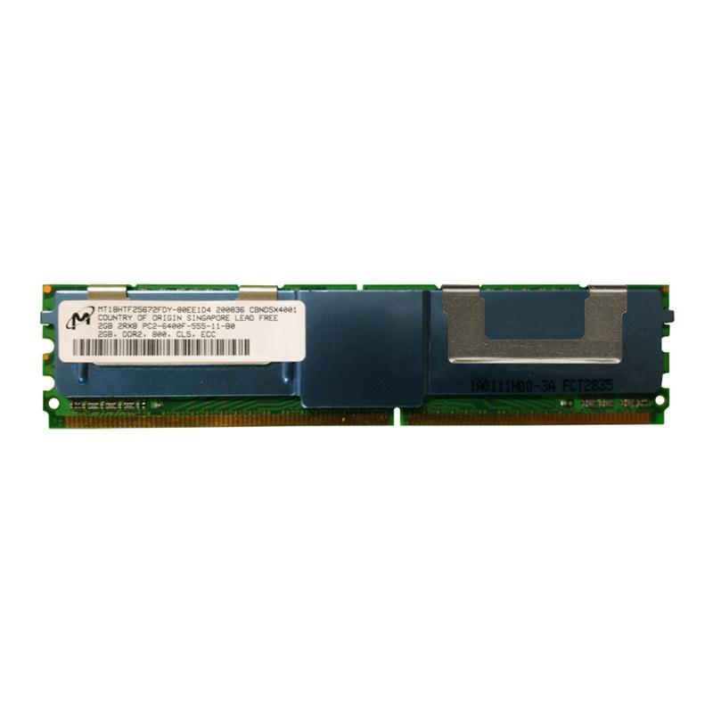 M4L Certified 2GB 800MHz DDR2 PC2-6400 Fully Buffered ECC CL5 240-Pin Dual Rank x8 DIMM Mfr P/N M4L-PC2800D2D8F5-2G