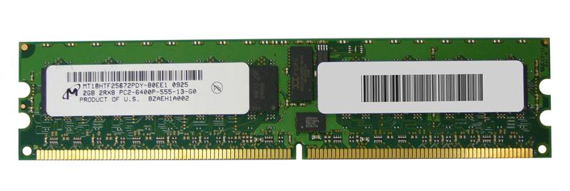 M4L-PC2800RD2D85D-2G M4L Certified 2GB 800MHz DDR2 PC2-6400 Reg ECC CL5 240-Pin Dual Rank x8 DIMM