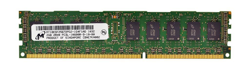 M4L Certified 2GB 1333MHz DDR3 PC3-10600 Reg ECC CL9 240-Pin Dual Rank x8 1.35V Low Voltage DIMM Mfr P/N M4L-PC31333RD3D89DL-2G