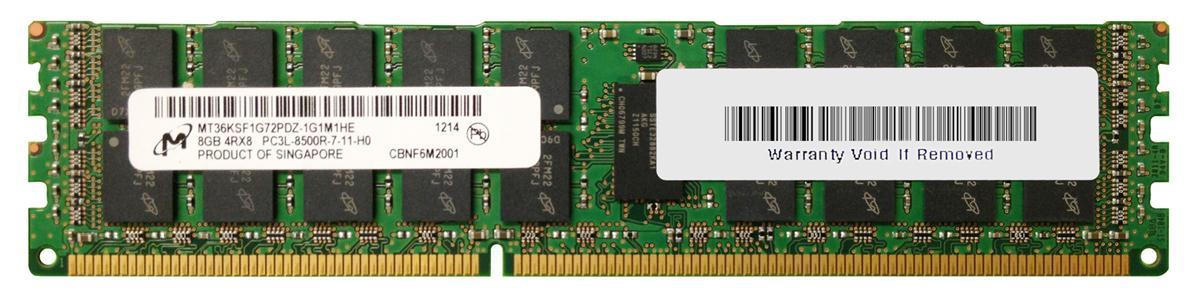 M4L Certified 8GB 1333MHz DDR3 PC3-10600 Reg ECC CL9 240-Pin Quad Rank x8 1.35V Low Voltage DIMM Mfr P/N M4L-PC31333RD3Q89DL-8G