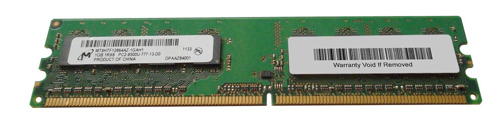 M4L Certified 1GB 1066MHz DDR2 PC2-8500 Non-ECC CL7 240-Pin Single Rank x8 DIMM Mfr P/N M4L-PC21066ND2S87D-1G