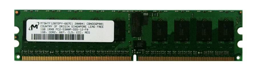 M4L Certified 1GB 667MHz DDR2 PC2-5300 Reg ECC CL5 240-Pin Single Rank x8 DIMM Mfr P/N M4L-PC2667D2S8P5-1G