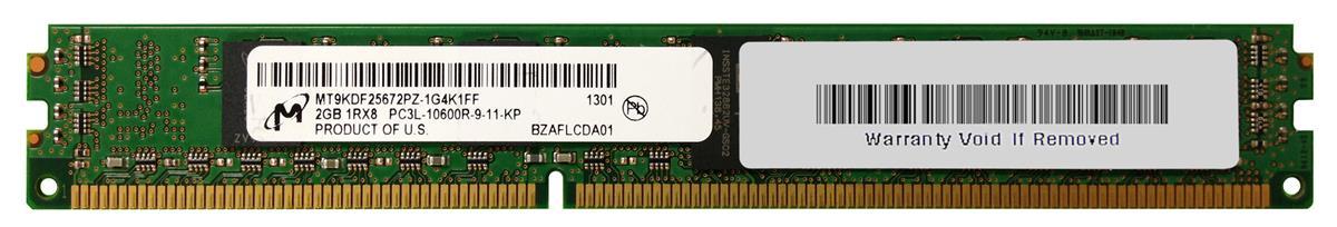 M4L Certified 2GB 1333MHz DDR3 PC3-10600 Reg ECC CL9 240-Pin Single Rank x8 VLP 1.35V Low Voltage DIMM Mfr P/N M4L-PC31333RD3S89DVL-2G