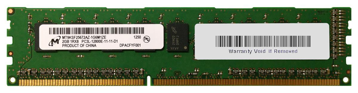 M4L Certified 2GB 1600MHz DDR3 PC3-12800 ECC CL11 240-Pin Single Rank x8 1.35V Low Voltage DIMM Mfr P/N M4L-PC31600ED3S811DL-2G