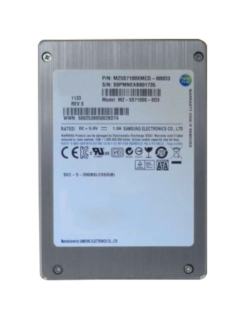 MZ5S7100XMC0-000D3 Samsung 100GB SLC SATA 3Gbps 2.5-inch Internal Solid State Drive (SSD)