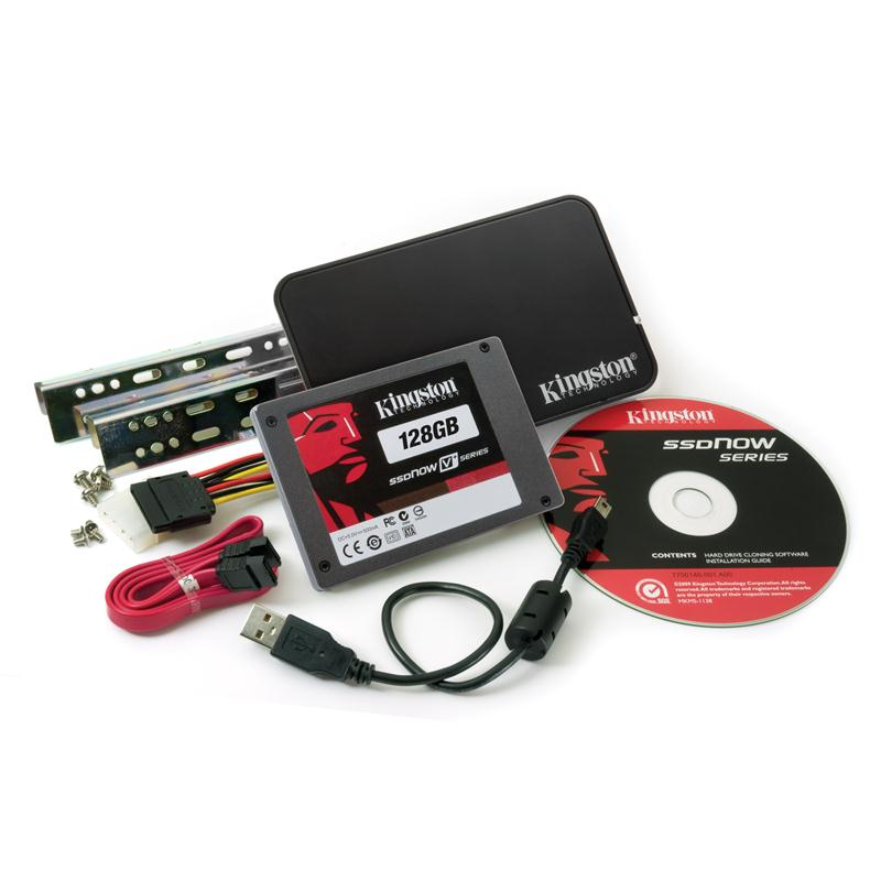 SNVP325-S2B/128GB-A1 Kingston SSDNow V+ Series 128GB MLC SATA 3Gbps 2.5-inch Internal Solid State Drive (SSD)