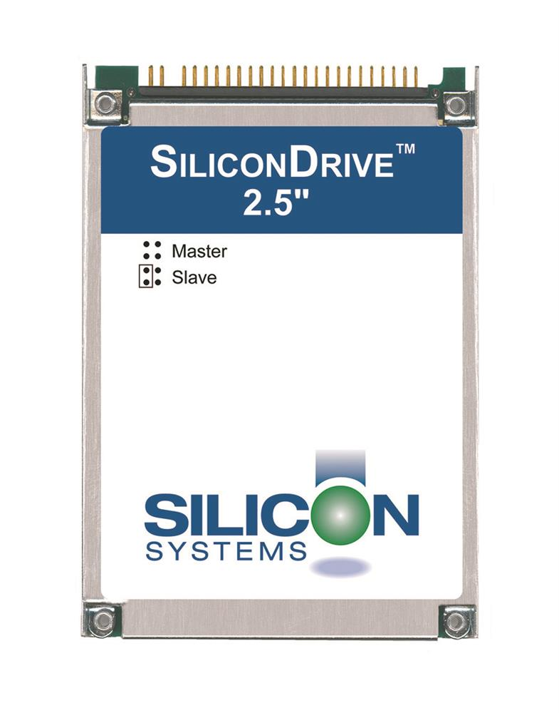 SSD-D12MI-3584 SiliconSystems SiliconDrive 128MB ATA/IDE (PATA) 2.5-inch Internal Solid State Drive (SSD) (Industrial Grade)