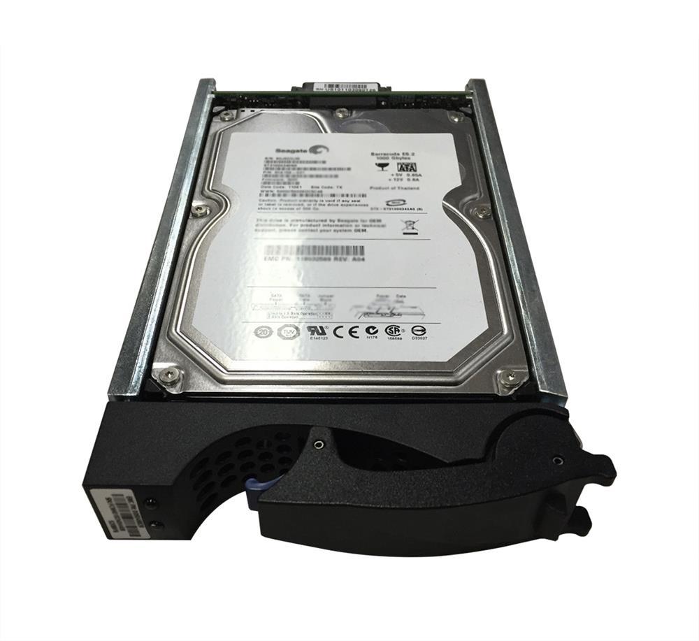 EMC 4TB 7200RPM SAS 6Gbps Nearline 3.5-inch Internal Hard Drive for VNX DAE (15-Pack) Mfr P/N V4-VS07-040