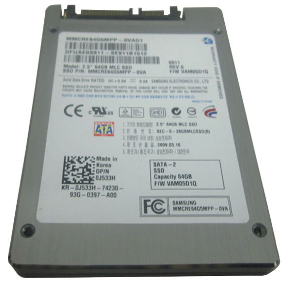 0j533h samsung 64gb sata 3 0 gbps ssd for Domon sata 3 64gb