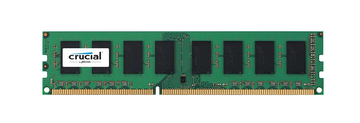 RM25664BA1339.8FR Crucial Rendition 2GB PC3-10600 DDR3-1333MHz non-ECC Unbuffered CL9 240-Pin DIMM Dual Rank Memory Module
