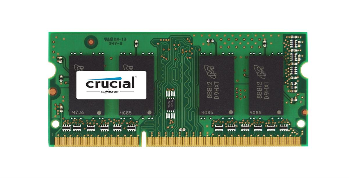 CT102472BF1339 Crucial 8GB PC3-10600 DDR3-1333MHz ECC Unbuffered CL9 204-Pin SoDimm 1.35V Low Voltage Memory Module