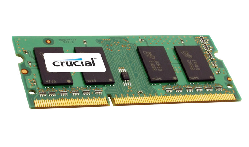 CT204864BF160B.M16FA Crucial 16GB PC3-12800 DDR3-1600MHz non-ECC Unbuffered CL11 204-Pin SoDimm 1.35V Low Voltage Dual Rank Memory Module