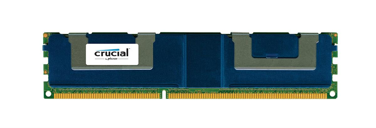 CT3643297 Crucial 32GB PC3-10600 DDR3-1333MHz Registered ECC CL9 240-Pin Load Reduced DIMM 1.35V Low Voltage Quad Rank Memory Module