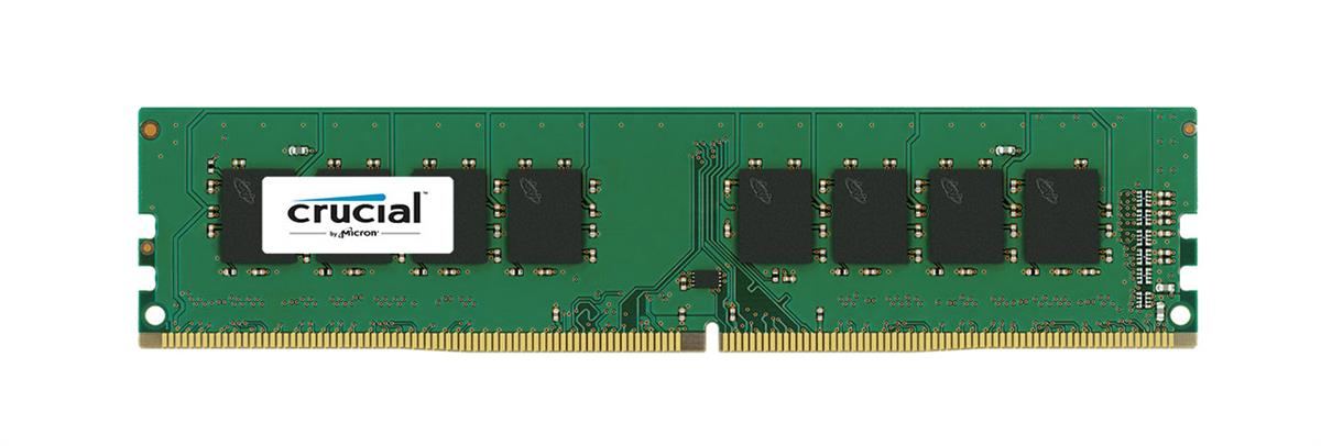 CTD421UB8G Crucial 8GB PC4-17000 DDR4-2133MHz non-ECC Unbuffered CL15 288-Pin DIMM 1.2V Dual Rank Memory Module
