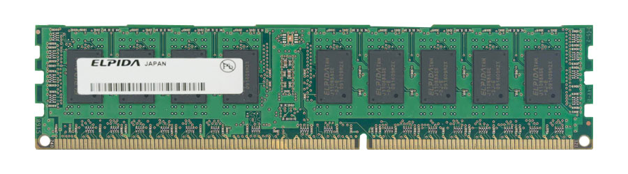 EBJ20RE4BAFA-DG-E Elpida 2GB PC3-10600 DDR3-1333MHz ECC Registered CL9 240-Pin DIMM Single Rank Memory Module