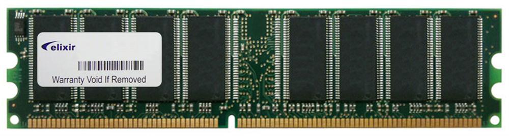 M2U51264DS8HB2G-6K Elixir 512MB DDR1 PC2700 Memory