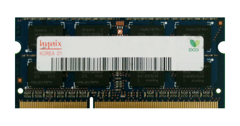 HMT41GS6AFR8C-RD Hynix 8GB PC3-14900 DDR3-1866MHz non-ECC Unbuffered CL13 204-Pin SoDimm Dual Rank Memory Module