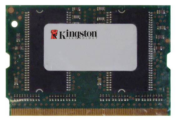 Kingston 1GB PC2-3200 DDR2-400MHz non-ECC Unbuffered CL3 172-Pin Micro- DIMM Memory Module Mfr P/N KTP-BAV4/1G