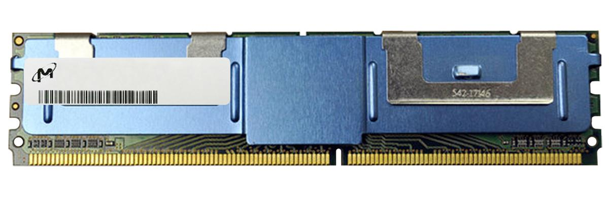 MT36HTF1G72FZ-80E Micron 8GB PC2-6400 DDR2-800MHz ECC Fully Buffered CL5 240-Pin DIMM Dual Rank Memory Module