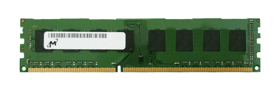 MT16KTF1G64AZ-1G6E1 Micron 8GB PC3-12800 DDR3-1600MHz non-ECC Unbuffered CL11 240-Pin DIMM 1.35V Low Voltage Dual Rank Memory Module